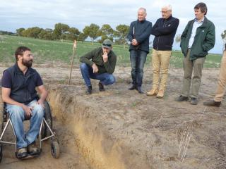 DPIRD soil nutrition project underway